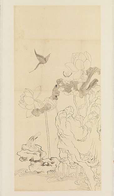 Scroll by Xie Zhiliu from the 1930s, in the collection of the Metropolitan Museum of Art